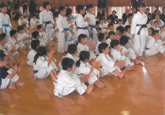第2回全九州少年少女空手道選手権大会並びに第15回全日本少年少女空手道選手権大会の選考会を開催