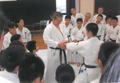 香川政夫先生をお迎えして、特別強化練習会を