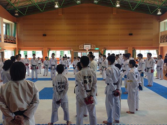 第1回県連盟強化練習会