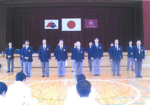 鹿児島県派遣審判員と監督・コーチの皆さんです。