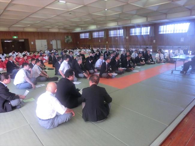 11月8日に審判講習会が開催されました