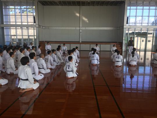 11月15日ジュニア強化練習