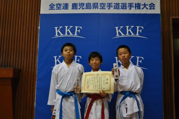 小学高学年男子3組手種子島